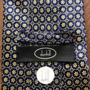 Dunhill Classic Silk Printed Floral Tie